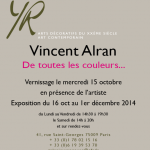 INVITATION VINCENT ALRAN