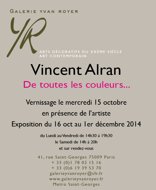 INVITATION VINCENT ALRAN
