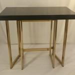 Table console plateau lacqué 2a