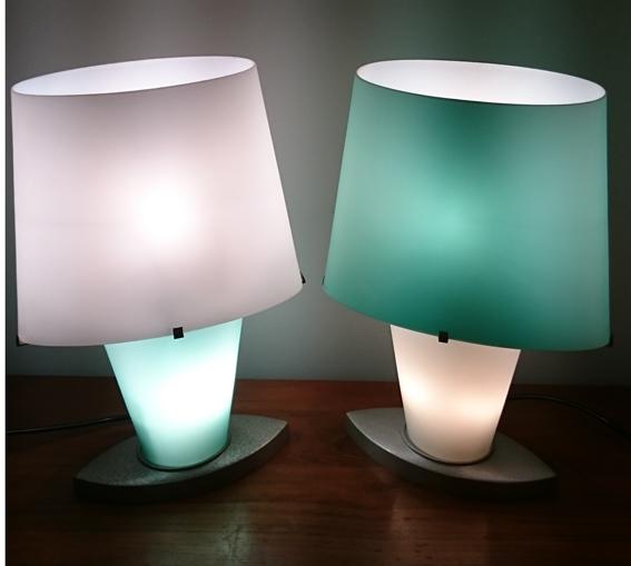 paire de lampes Fontana Arte design Daniela Puppa 1a