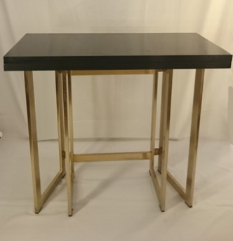 Table console plateau lacque a