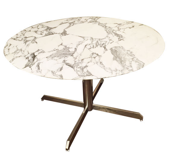 Table knoll a galerie yvan royer for Table marbre roche bobois