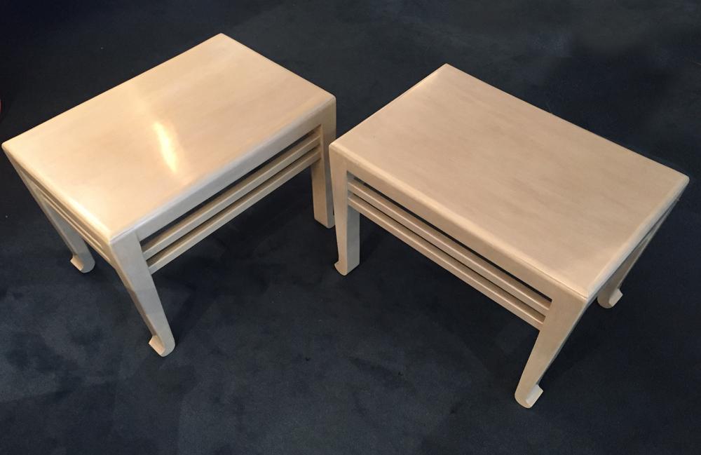 paire de bouts de canape art deco a galerie yvan royer. Black Bedroom Furniture Sets. Home Design Ideas