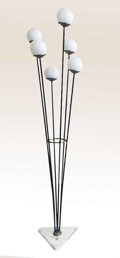 lampadaire bouquet stilnovo