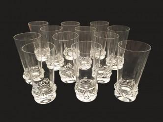 12 verres a eau Daum 1a