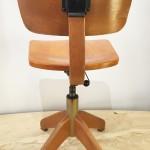 Chaise bois Giroflex n°2a