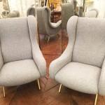 Paire fauteuils Zanuso n°1a