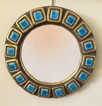 Petit miroir ceramique ME a