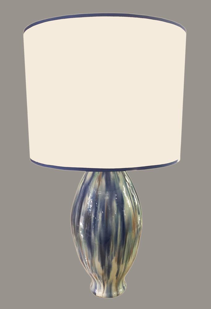 lampe en c ramique circa 1920 galerie yvan royer. Black Bedroom Furniture Sets. Home Design Ideas