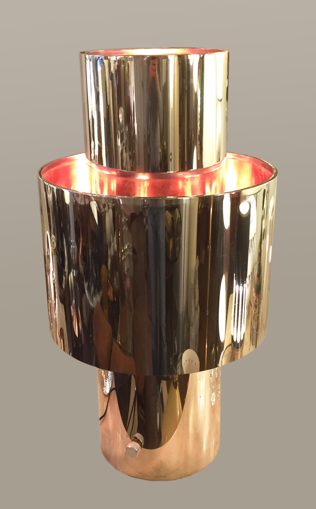 Lampe Willy Rizzo N 3a Galerie Yvan Royer