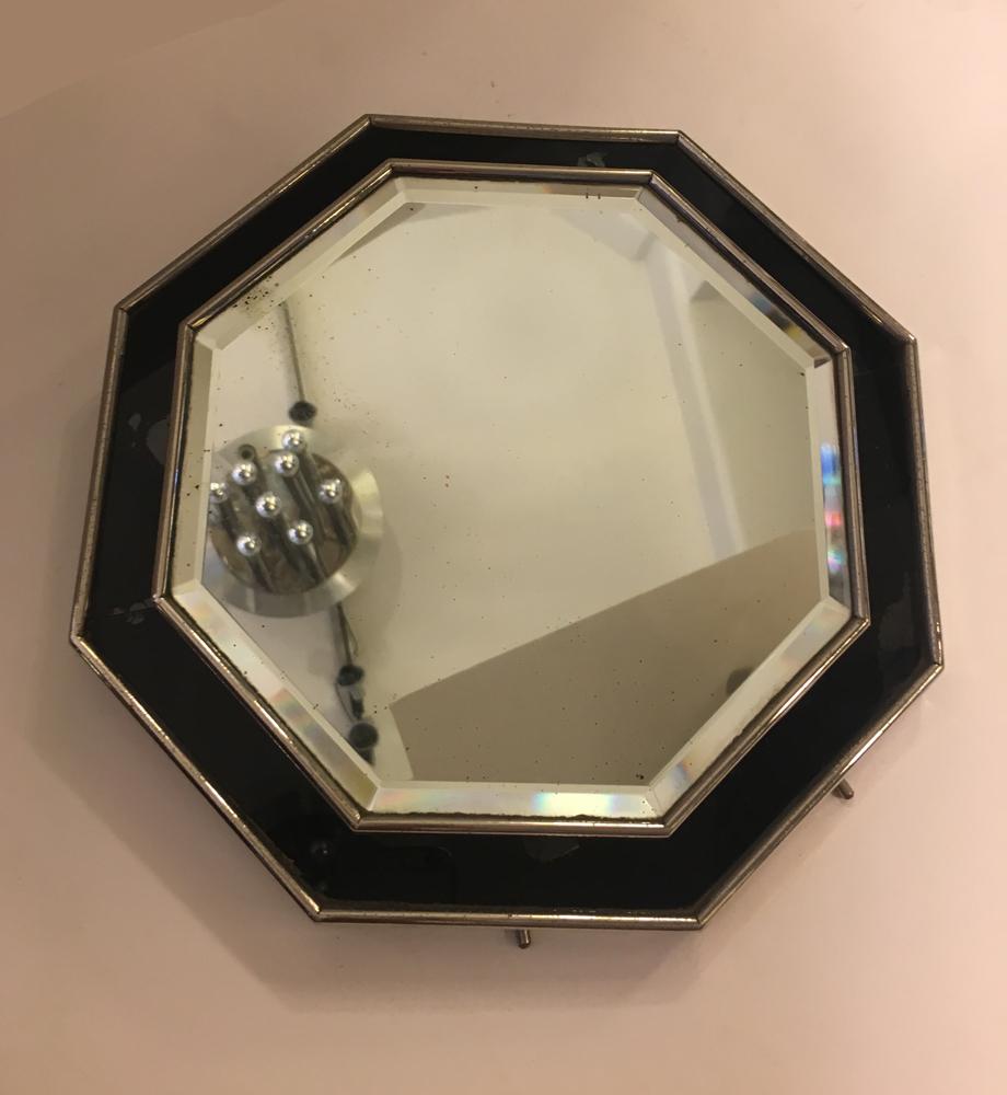 Miroir octogonal ad4 galerie yvan royer for Miroir octogonal