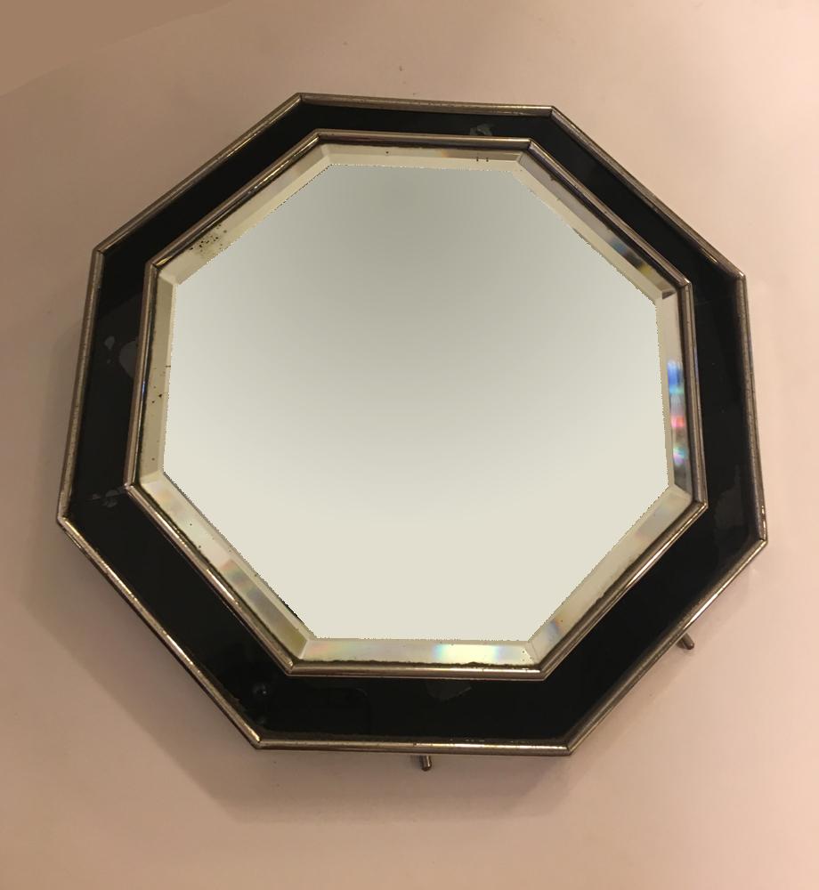 Miroir octogonal ad6 galerie yvan royer for Miroir octogonal