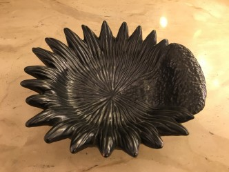 Coupe en céramique noire Jean Marais n°1