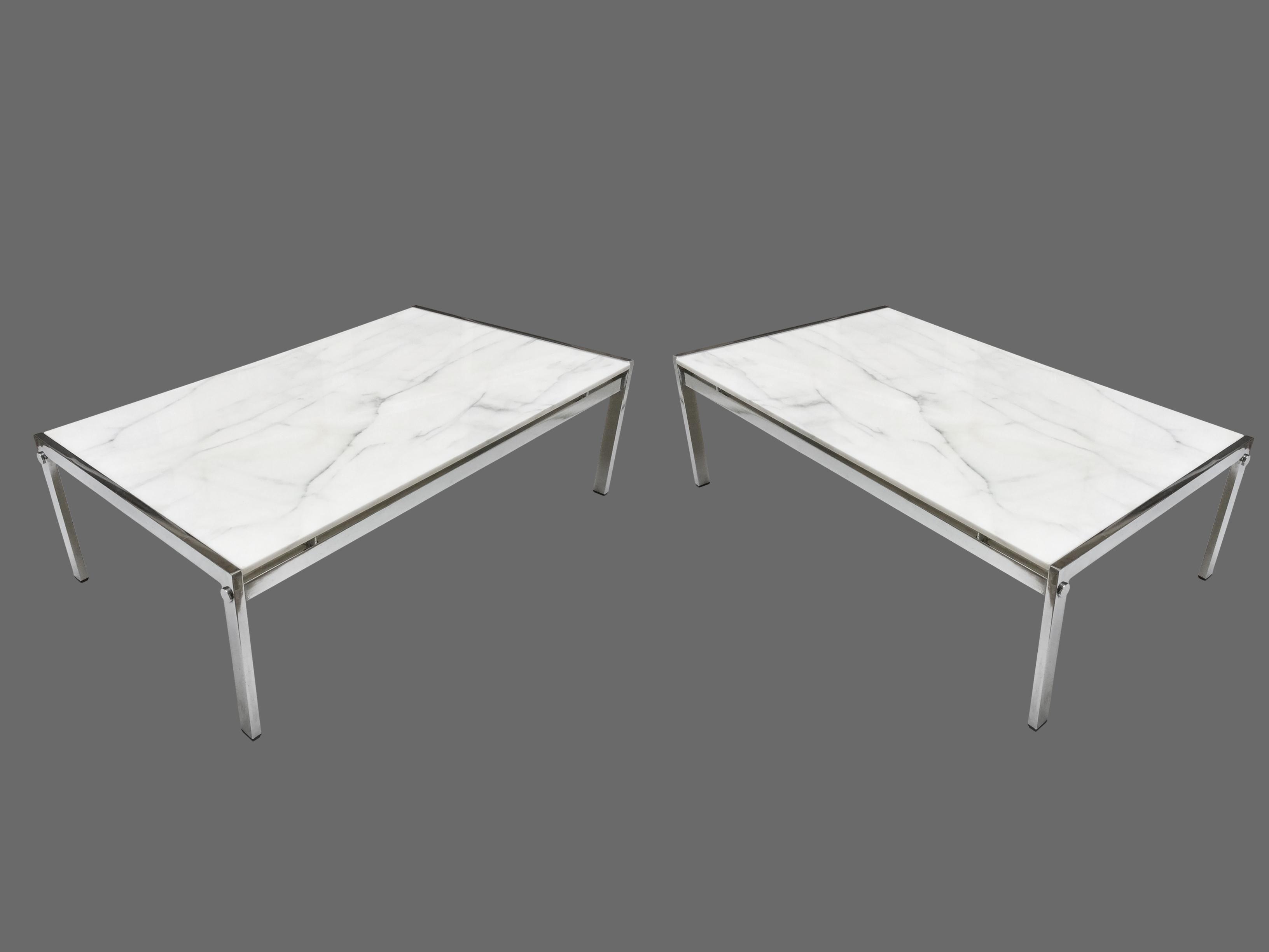 Tables basses marbre vue 1