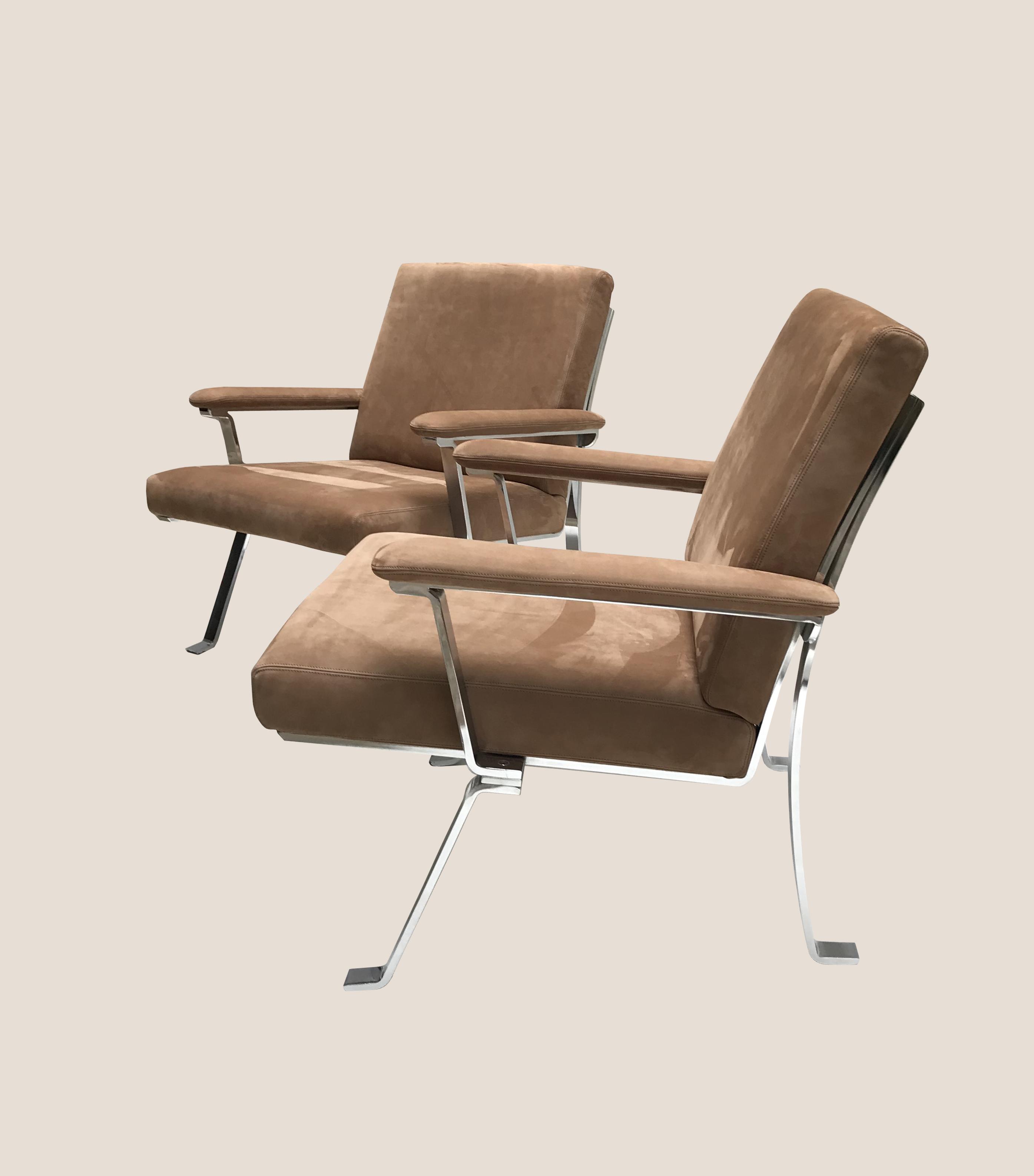 fauteuils nubuck 2