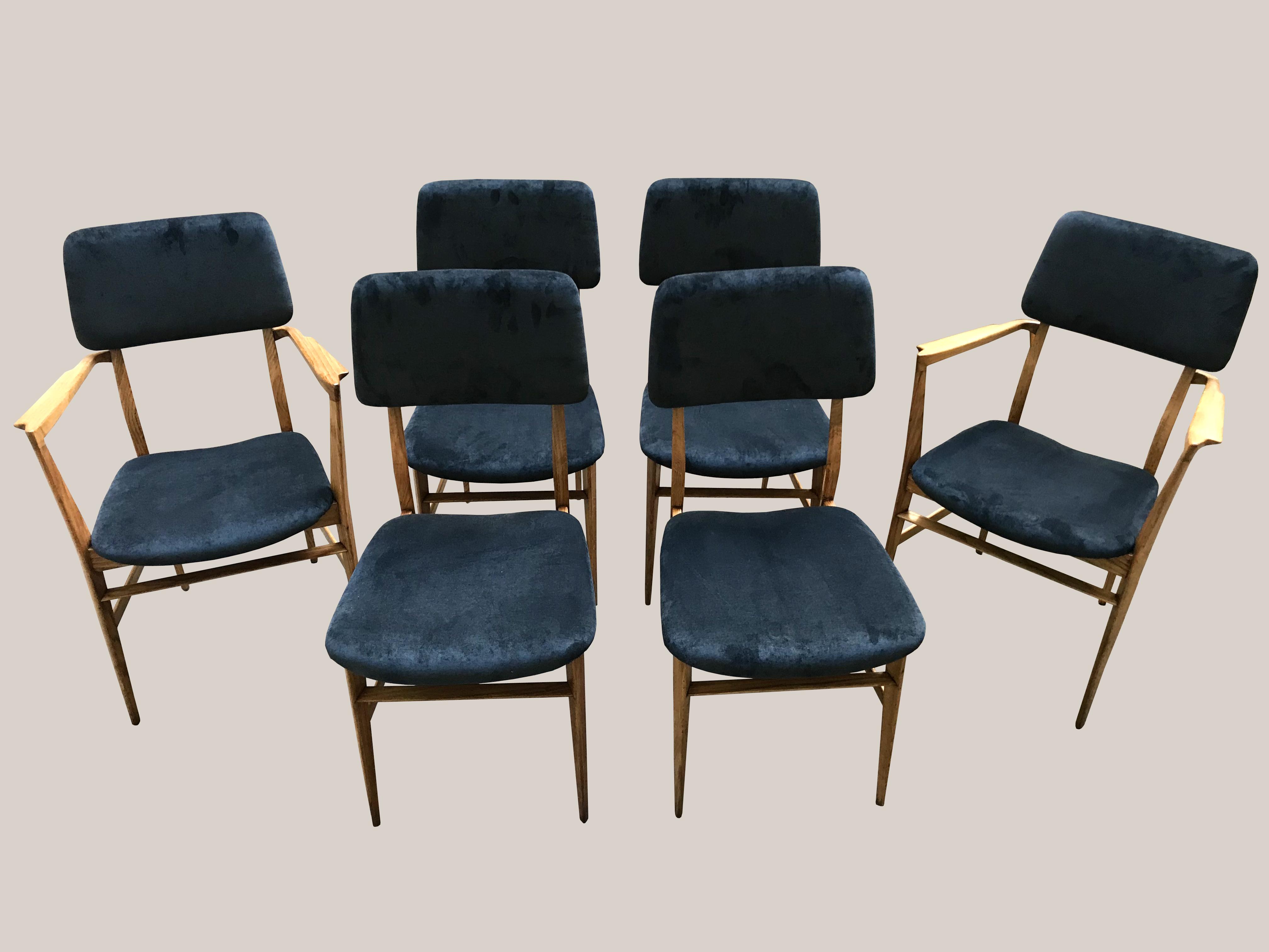 4chaises et 2fauteuils Edmundo palutari ed vittorio dassi