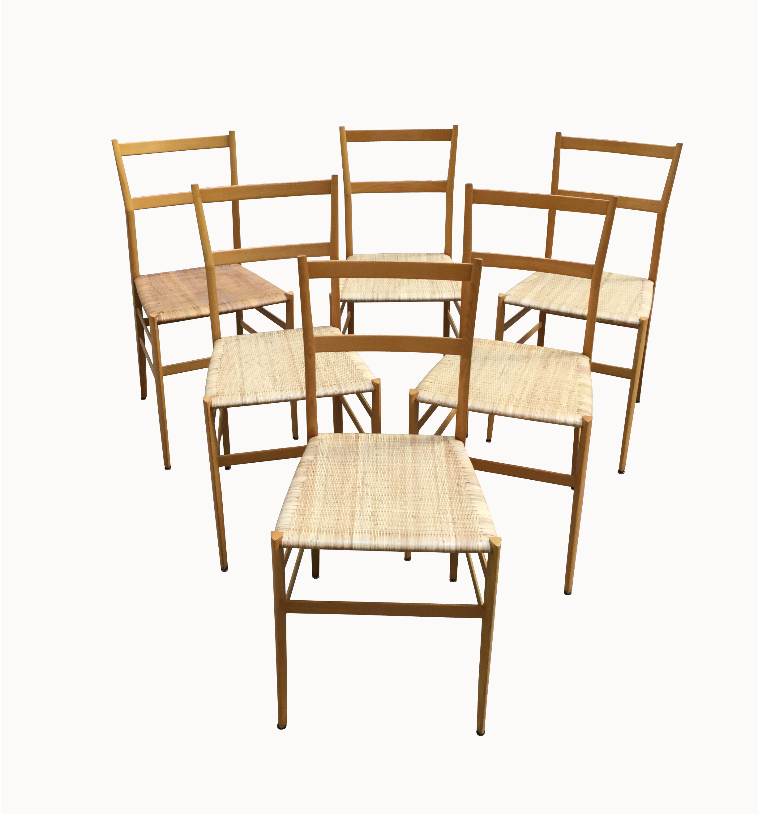 6 chaises superleggera 1