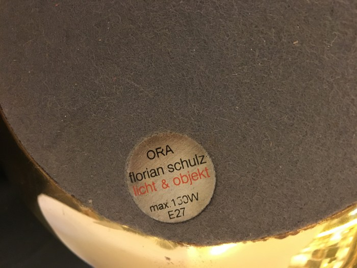Lampe Florian Schulz Ora 3