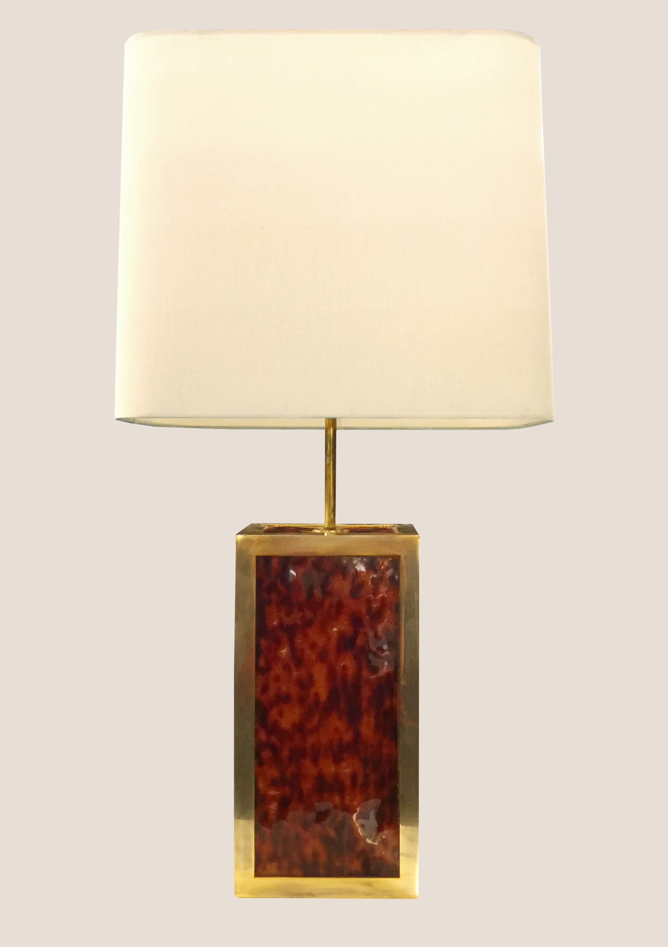 Paire de lampes Perzel Galerie Yvan Royer
