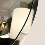 Miroir art déco métal 2