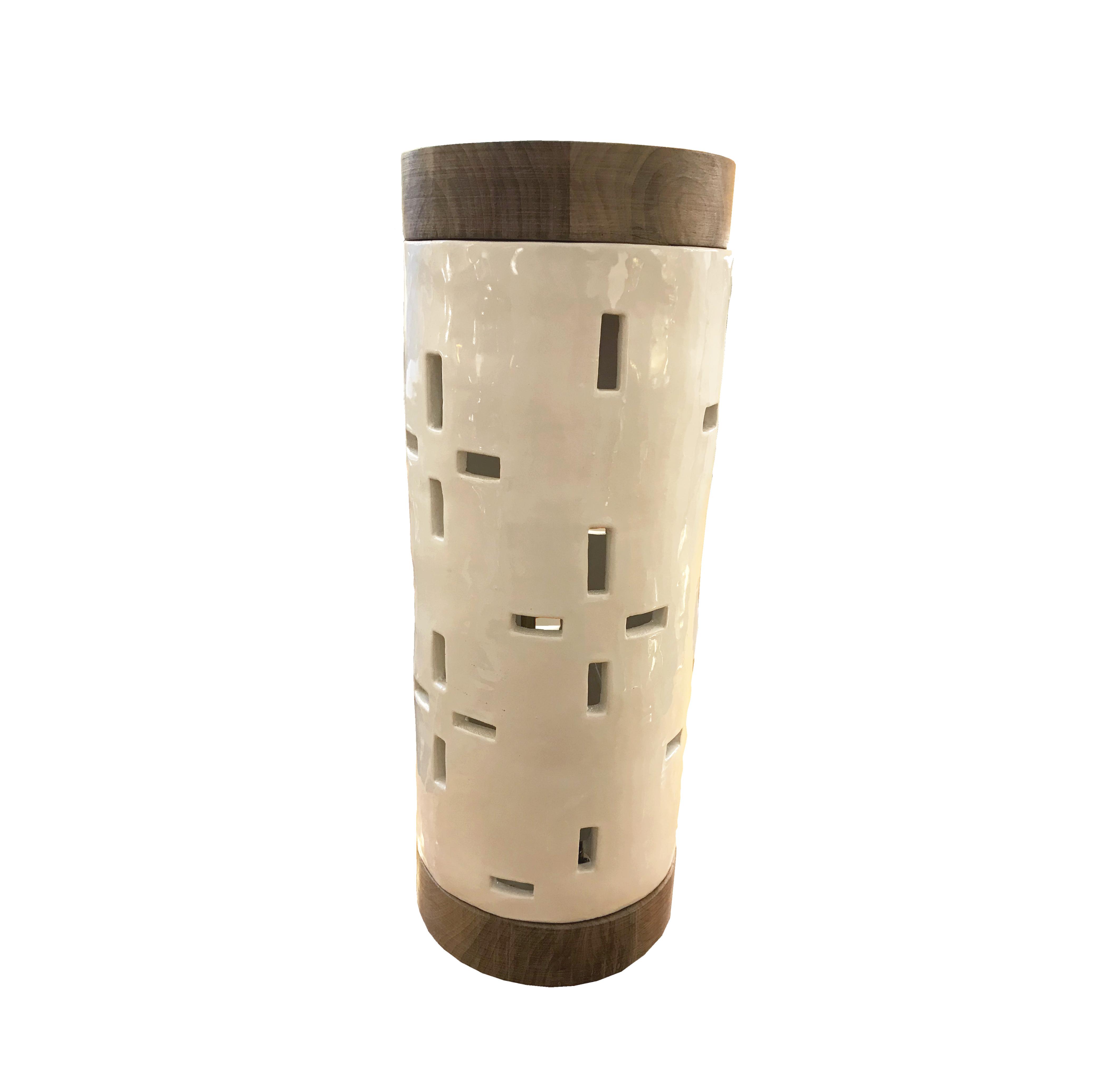 lampe en céramique vue2