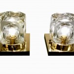 paire lampes carées vue 2