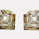 paire lampes carées vue 3