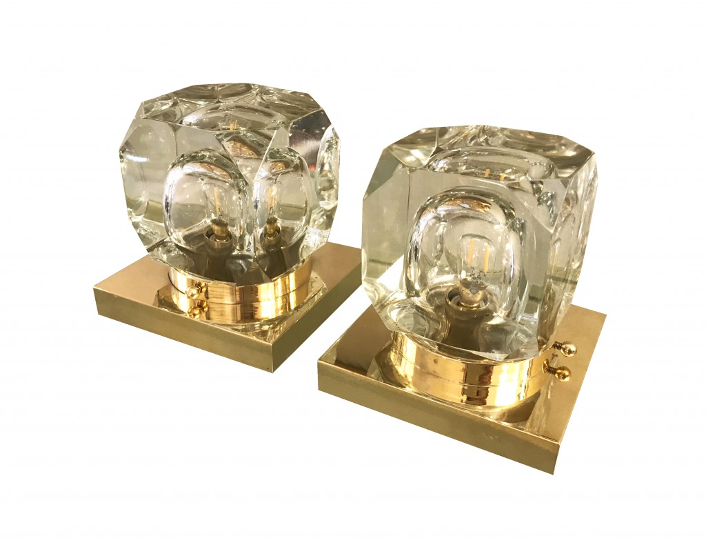 paire lampes carées vue 7