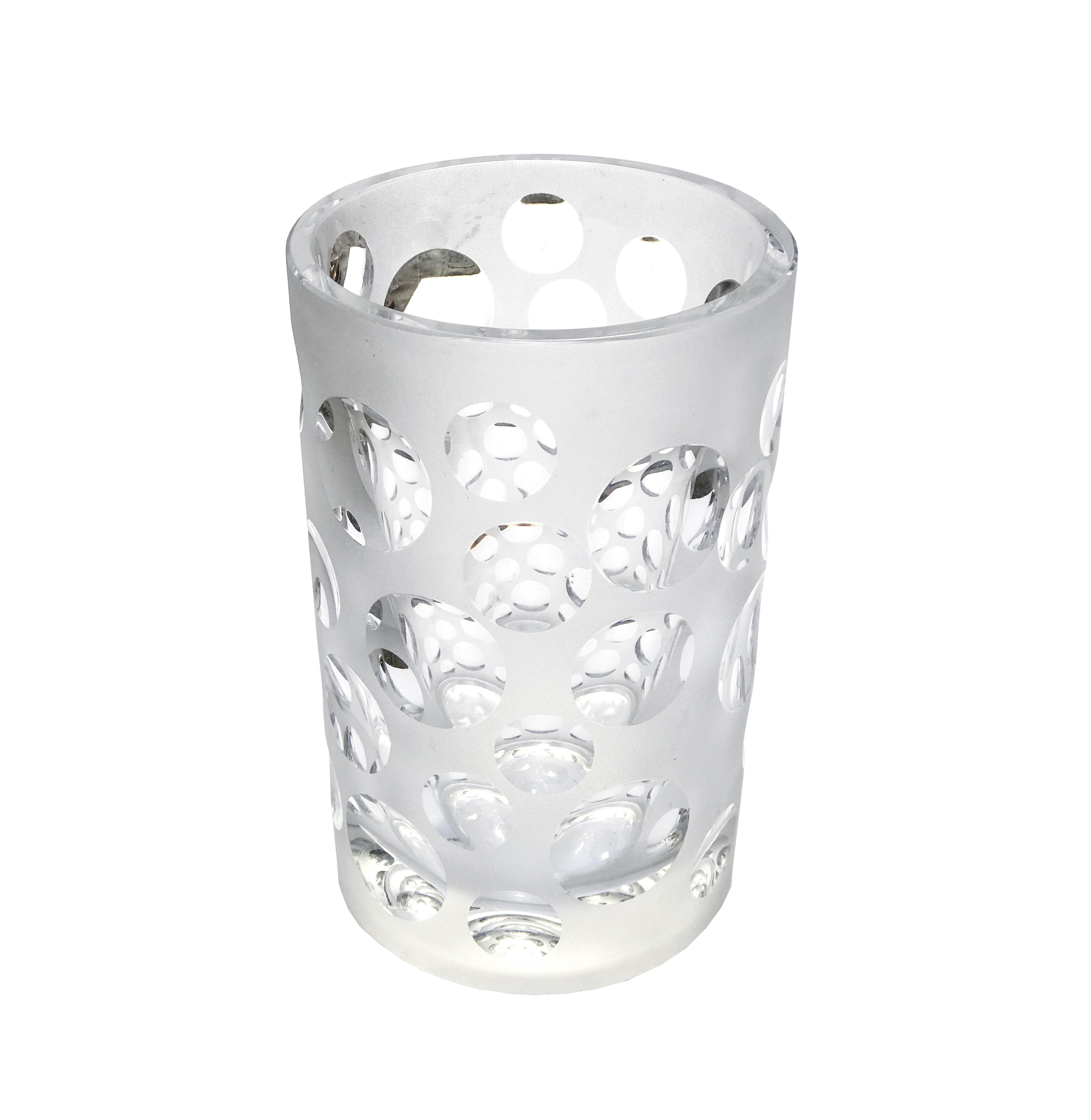 Vase avec bulles vue 1