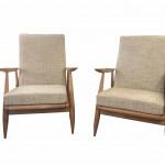 fauteuil gris vue 5
