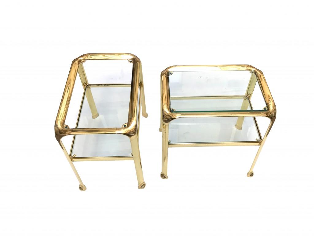 paire de tables gold vue 3