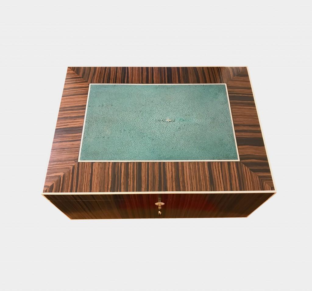 boîte en bois vue 2