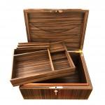 boîte en bois vue 5