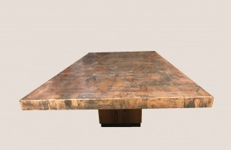 table cuivre