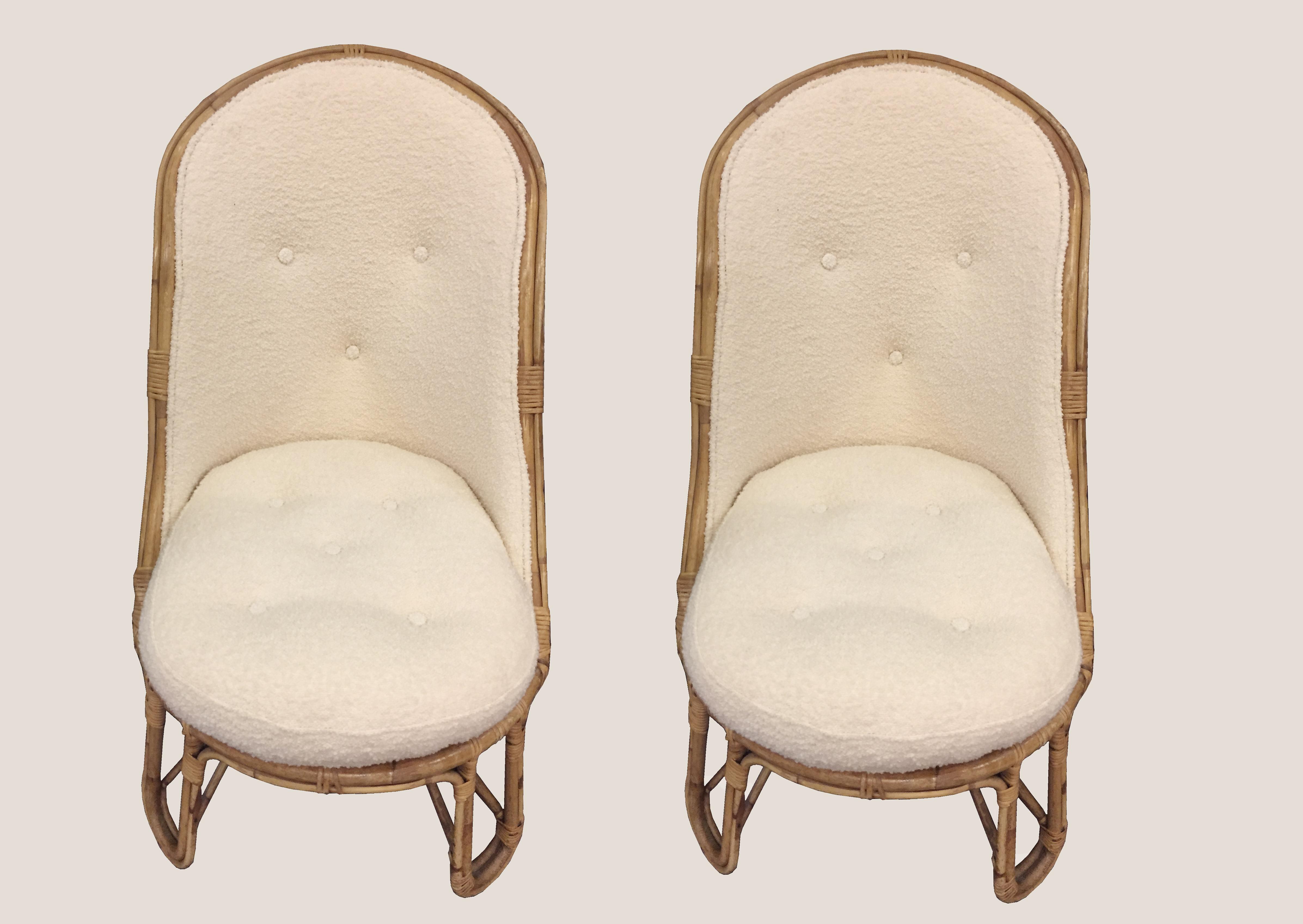 paire de fauteuils dédar