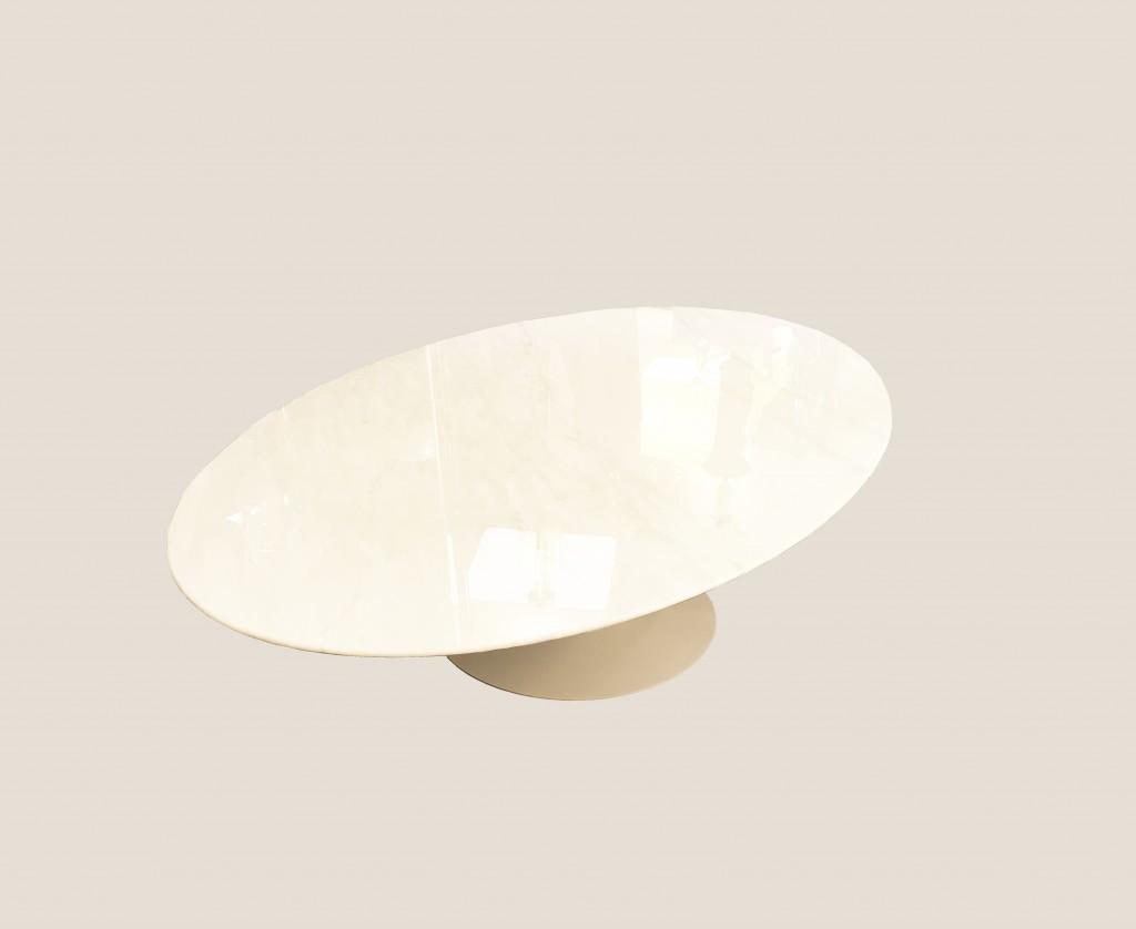 table basse ovale knoll 5