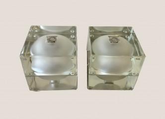 Paire de cubosferra design Alessandro Mendini