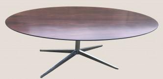 une table Knoll palissandre