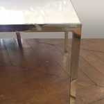table basse parallel bar knoll marbre 4