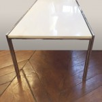 table basse parallel bar knoll marbre 5 copie