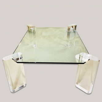 Table Basse En Plexiglas Archives Galerie Yvan Royer