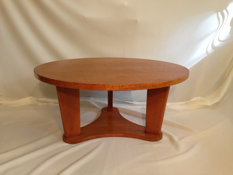 table-basse-rond-en-chene1950