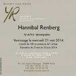 Invitation 21 mai 14 Hannibal Renberg