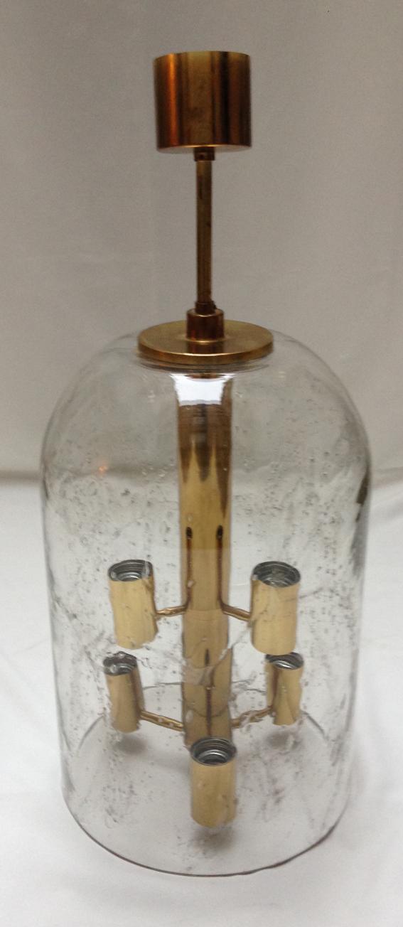 Grande Lanterne en verre de murano1970 2a