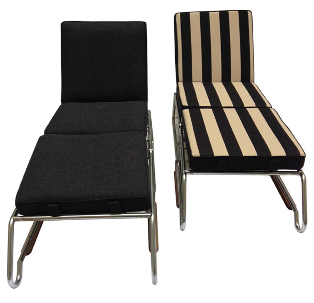 Paire de chaises longues n°1a