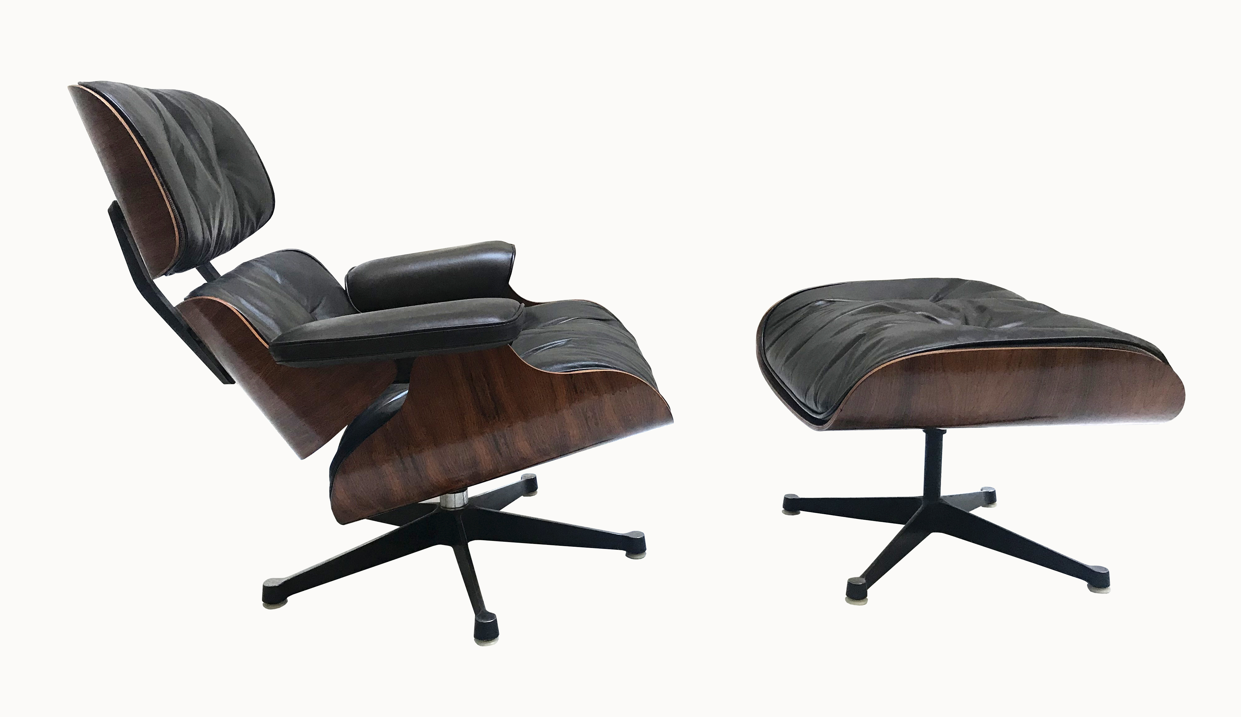 Lounge chair Eames mobilier international 1
