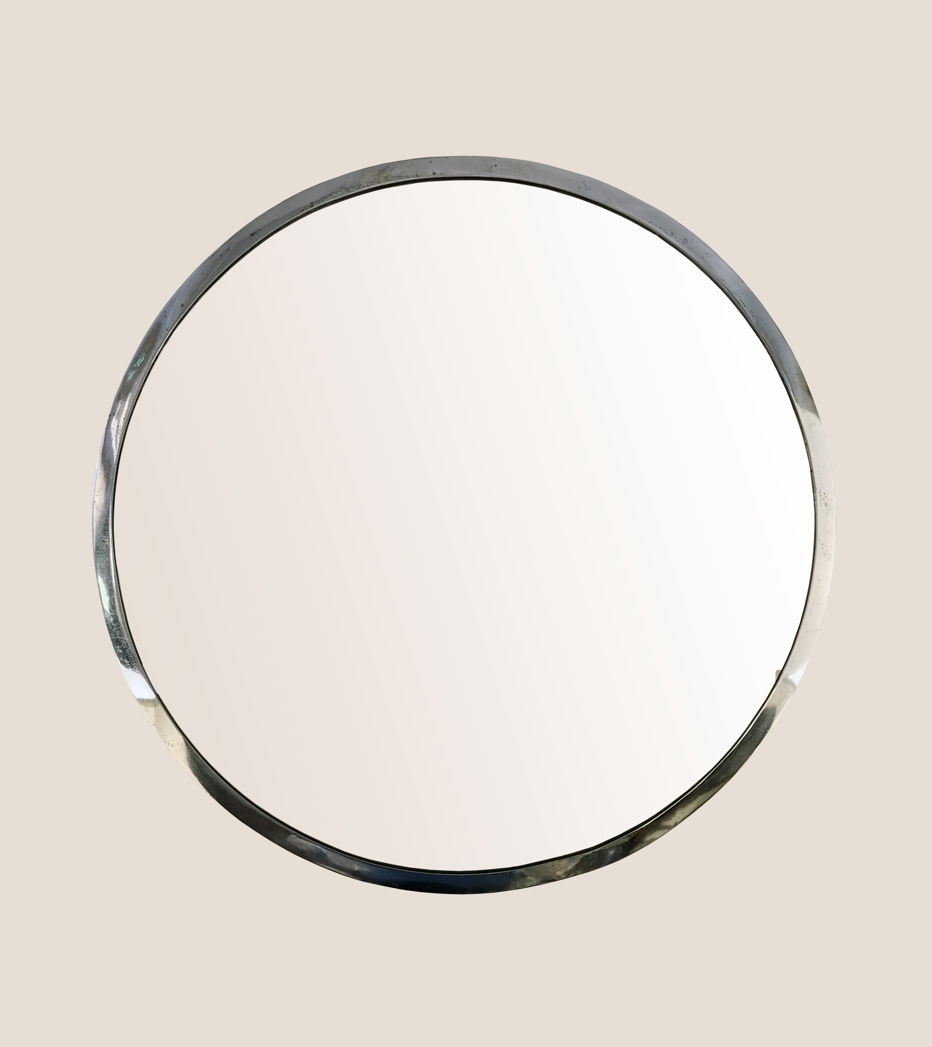 Miroir art déco métal