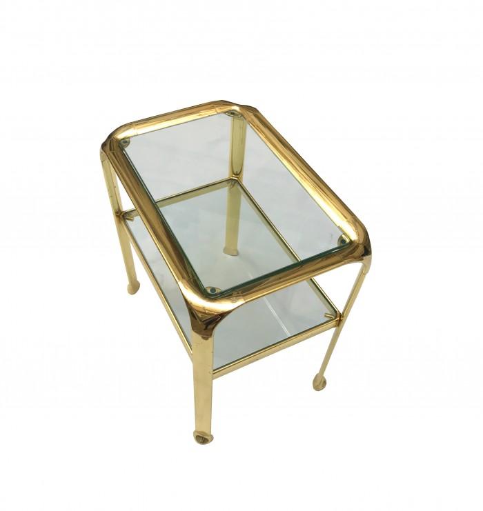 paire de tables gold vue 1