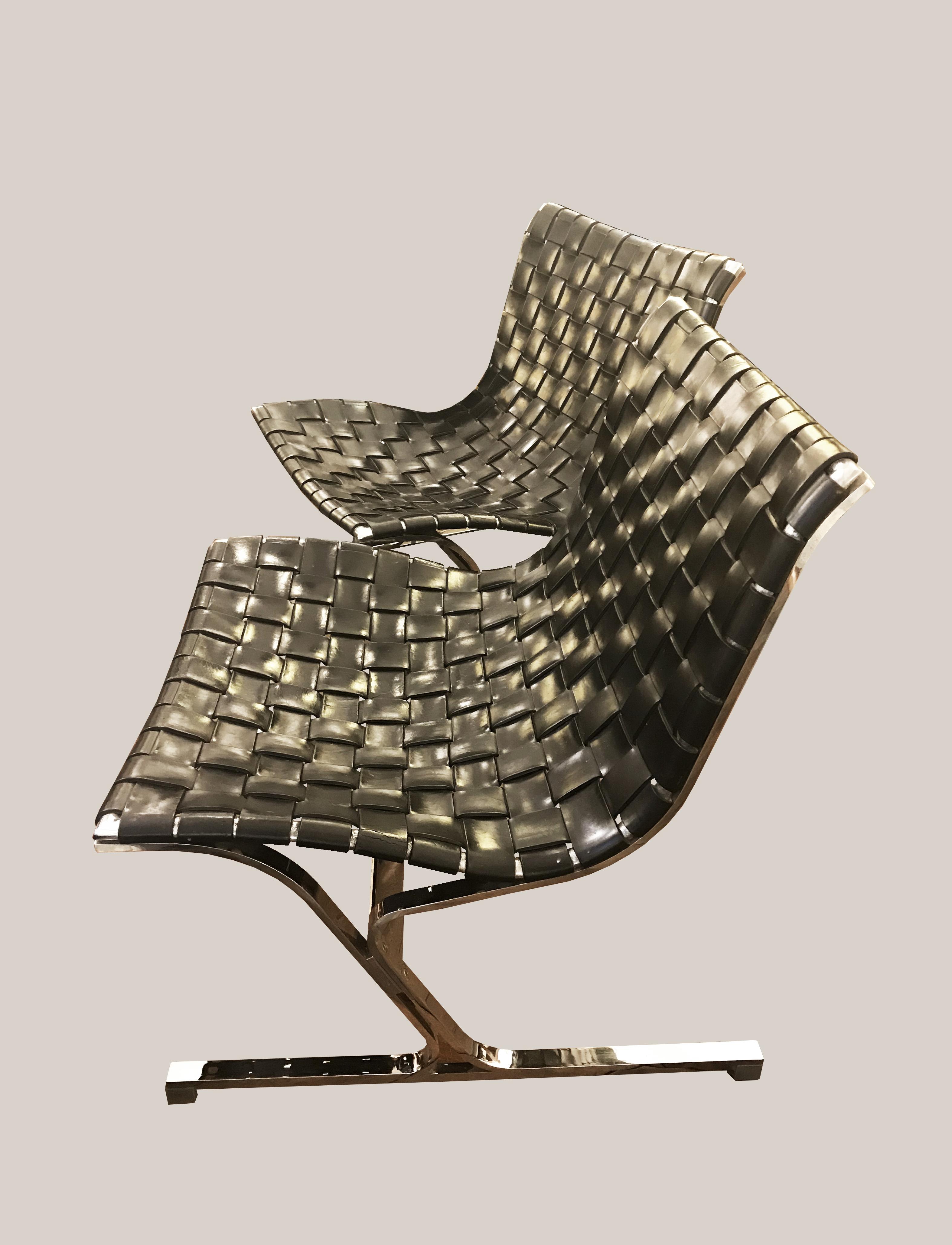 Paire de fauteuils Little Ross