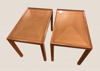 Paire de tables basses Christian Dior